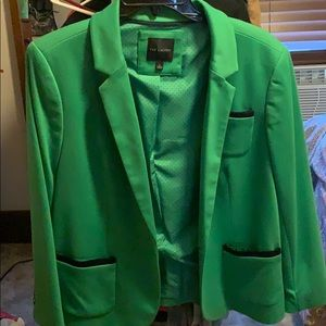 Emerald Green Blazer from the Limited